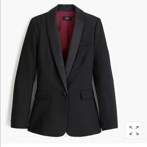 NWT J. Crew Tuxedo Blazer (size 00)
